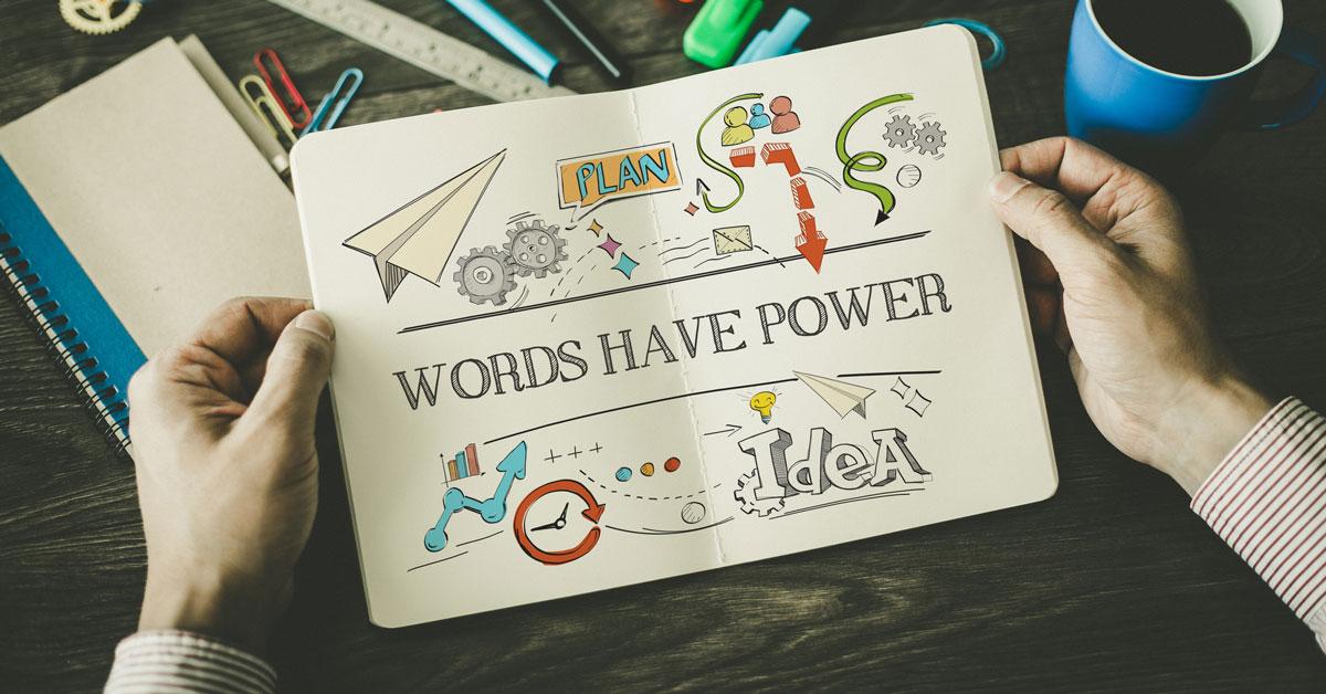 kekuatan kata