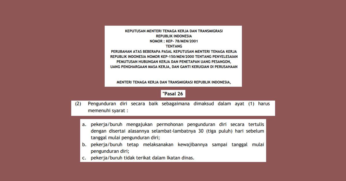 peraturan menteri